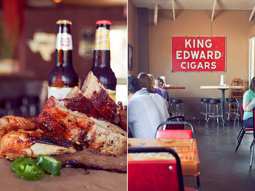 The look, food and vibe at Lockhart are straight from Central Texas' barbecue belt.