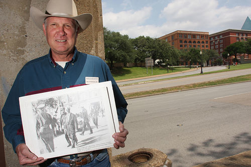 Ken Holmes operates tours for both JFK and Bonnie and Clyde.