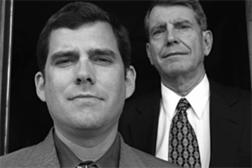 Family law: Father-and-son defense lawyers Brian and Ed Gray believe their client was done in by a nonexistent witness.
