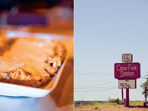 Clear Fork's chicken-fried steak is big enough to carry you across the empty miles of West Texas.
