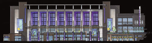 One artist's rendering of the Irving Entertainment Center's potential.