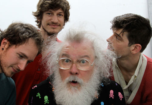 R. Stevie Moore is taking his show on the road thanks to a group of young fans.