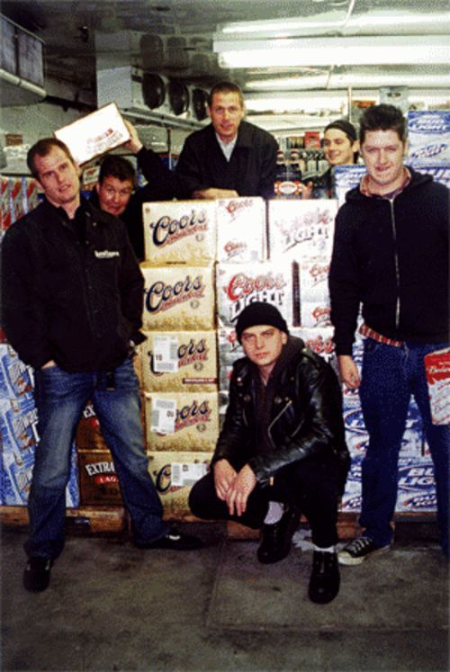 The Dropkick Murphys make a stop at Fuel City before their St. Paddy's Day gig.