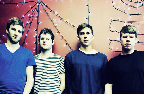 We Were Promised Jetpacks' backs are literally up against a wall, but not metaphorically.