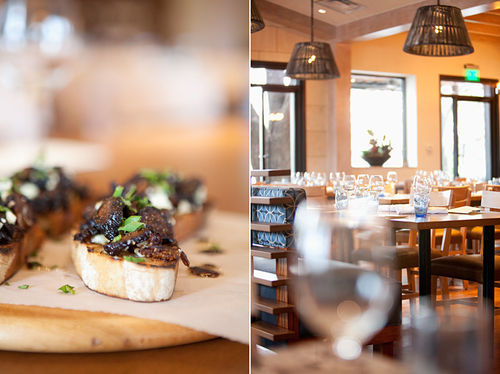 Some restraint could save the fig and Gorgonzola bruschetta at Princi Italia.