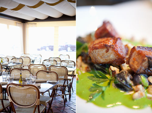 Escargot fits at Bistro 31, but pork belly is out of place in the snail dish.