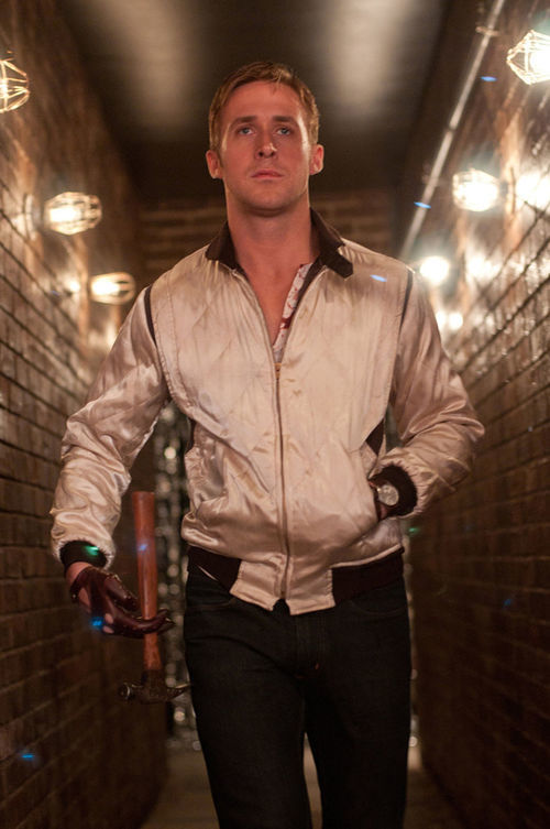 Ryan Gosling, not quite the sexiest man of the year, in Drive.
