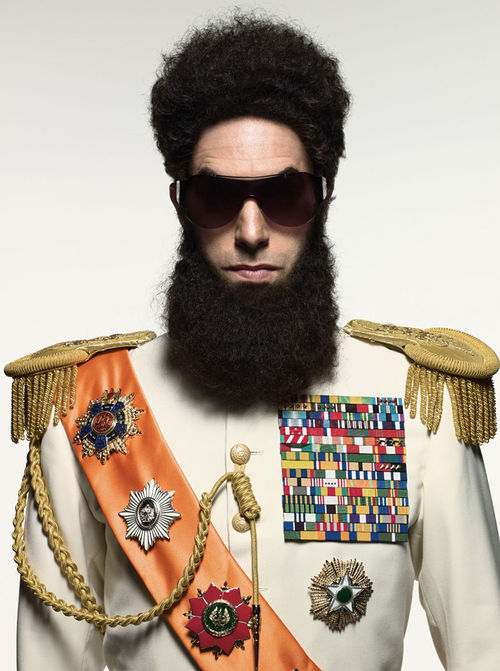 Sacha Baron Cohen, The Dictator.