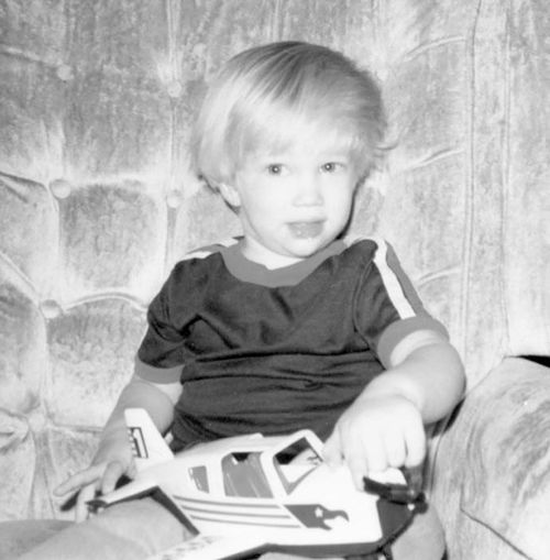 Seth Winder at 3 years old