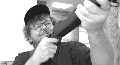 In Bowling for Columbine, director Michael Moore took aim at America's gun culture - and broke all box-office records for a documentary film.