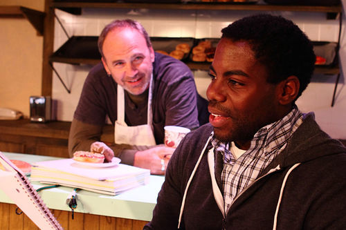 There are at least a dozen good reasons to see Van Quattro and Chris Piper in Theatre Too's Superior Donuts.