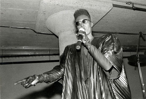 Grace Jones opened and closed the Starck Club.