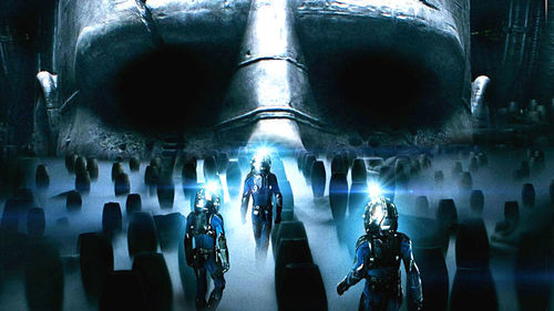 Prometheus: Blue mist ... why haven't astronauts figured out that blue mist = bad stuff?
