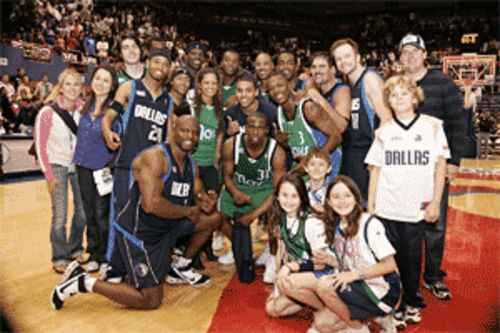 Come June, these Slam Jam kids and celebs will be replaced by David Stern and a nation of Mavs admirers.