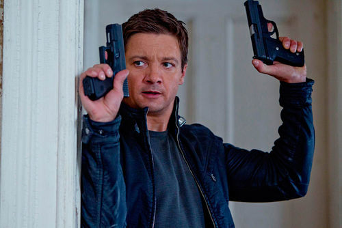 Jeremy Renner plays Aaron Cross, Bourne 2.0 but with a pill problem.