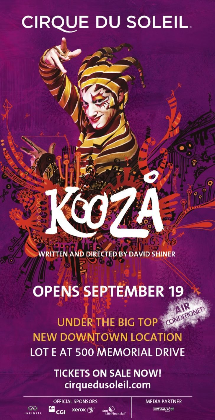 Live Nation - Cirque Kooza