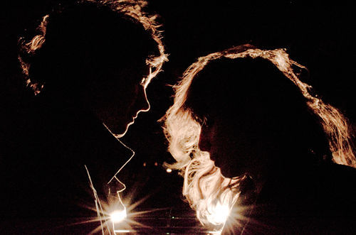 Beach House: Now touring only as silhouettes.