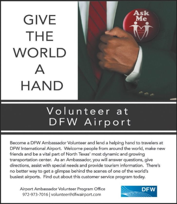 Dfw Ambassador Program