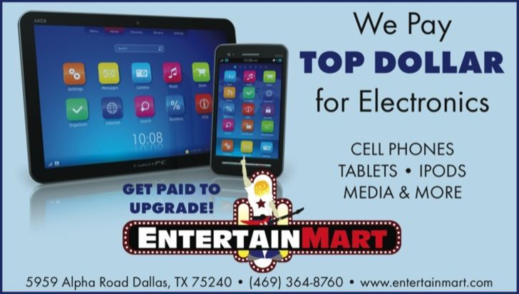 Entertainmart pays top dollar!