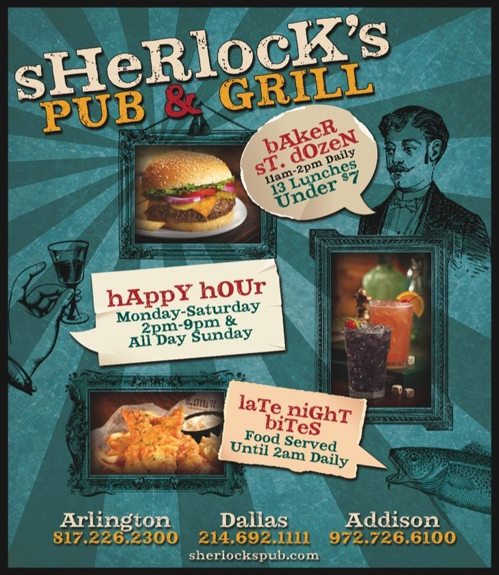Sherlocks Baker St Pub