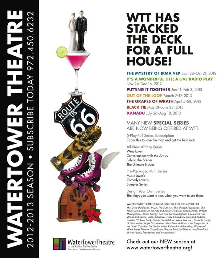 WaterTower Theatre's 2012-203 Season!