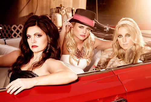 The Pistol Annies: Get the F-bomb out of their way.