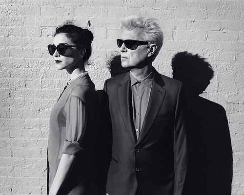 Shady: St. Vincent and David Byrne.