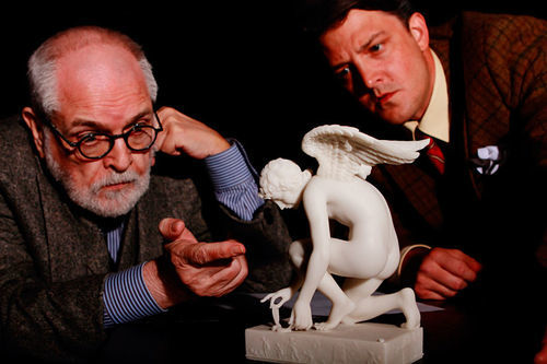 Ego trip: Jac Alder is Sigmund Freud, Cameron Cobb is C.S. Lewis in Theatre Three's witty and provocative Freud's Last Session.