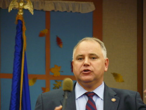 Democratic U.S. Rep. Tim Walz (D-Minnesota) tried to pass legislation preventing the uber-rich from claiming the mortgage deduction on yachts. Dave Camp blocked that effort, too.