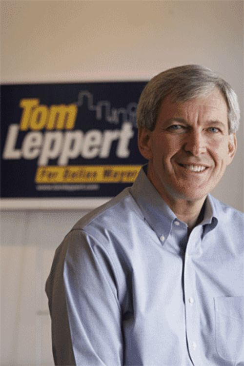 Tom Leppert moved a company to Dallas, he says. Too bad he left the employees behind.