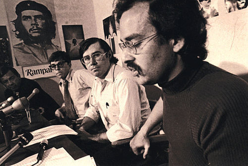 In the late '60s, David Horowitz (far right) was a member of the New Left and editor of Ramparts magazine.