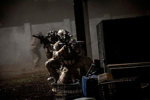 A day at the office for Navy SEALs.