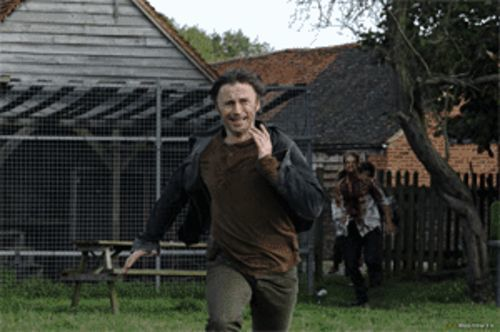 Don (Robert Carlyle) abandons his wife when the zombies come. We feel the same way about our in-laws.