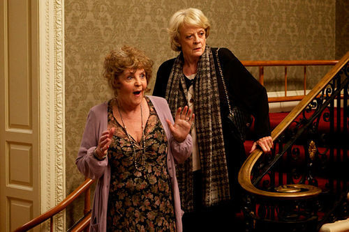 Pauline Collins and Maggie Smith in Quartet.
