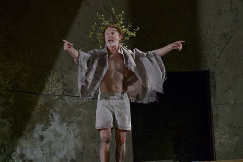 King Leer: In DTC's King Lear, actor Brian McEleney gets naked. You've been warned.