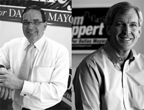 Ed Oakley and Tom Leppert face each other in a runoff June 16.