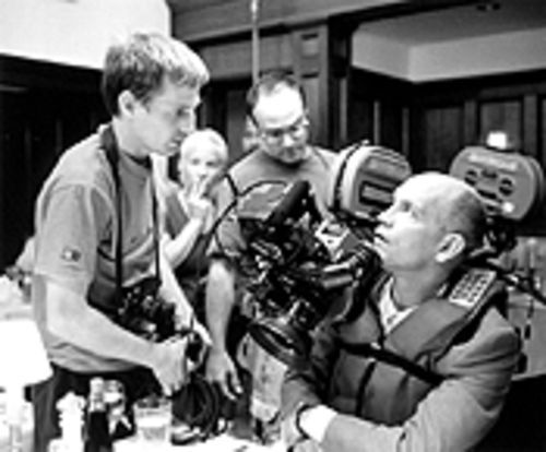 Spike Jonze directs John Malkovich, perhaps the only man alive who doesn't need instructions on how to be, well, John Malkovich.