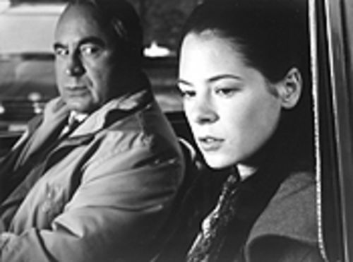 Hilditch by the side of the road: Bob Hoskins gives Elaine Cassidy a lift...or does he?