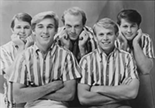 ...and as he appeared during happier times with the Beach Boys, who would ultimately betray their leader's legacy
