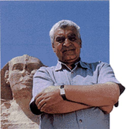 Old Giza: Hawass covers the pyramids, mummies, and the Sphinx.