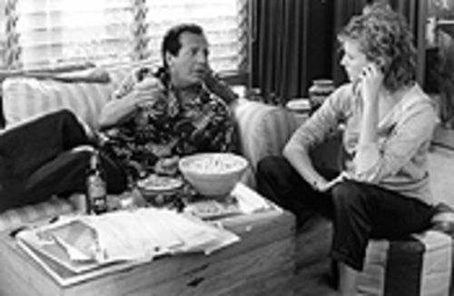 Space needle dick: Garry Shandling and Annette Bening star in the longest pecker joke ever told.