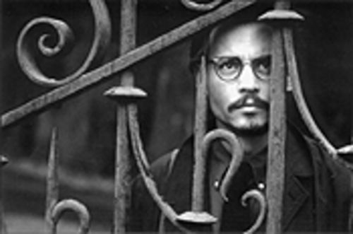 Depp on it: Johnny D. looks all brooding and lonesome, like a little teddy bear.