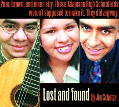 I survived Adamson High School: from left, Armando Monsivais, Sonia Cabrales, and Manuel Herrera