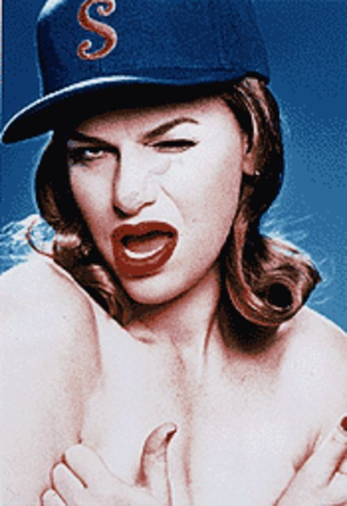 With just a wink and a pout, Sandra Bernhard can lay waste to armies of self-infatuated celebrities.