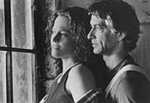 Sigourney Weaver looks to hubby David Strathairn for support in the Lifetime-y new film A Map of the World.