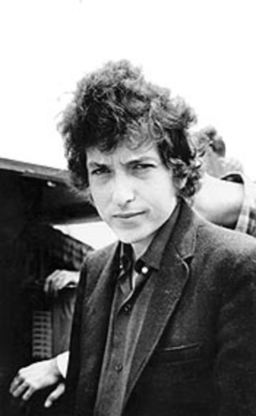Bob Dylan, long before his Wallflower son would betray the name.