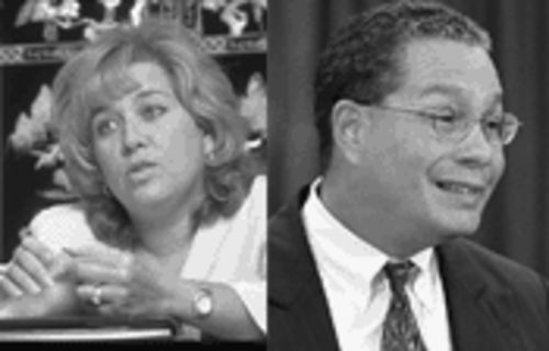 Run-outta-town former superintendents Yvonne Gonzalez and Waldemar Rojas left quite a legacy: several layers of extremely highly paid carpetbagging bureaucrats.