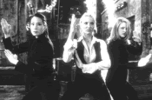 Judo chop! Liu, Diaz, and Barrymore punch, kick, and jiggle their way to mediocrity in Charlie's Angels.