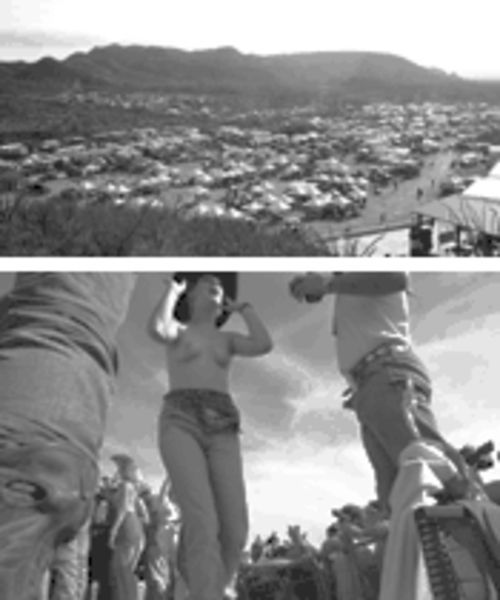 Above: They come in campers from across the country to celebrate chili in the Big Bend, among other things, below.