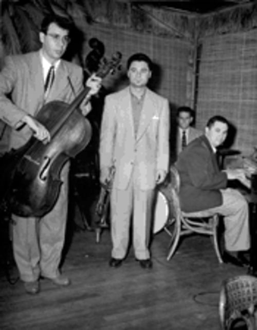Babasin booked the Trade Winds, a suburban L.A. club in 1952. Among his guests were Shorty Rogers (on trumpet), Shelley Manne (drums), and Marty Paich (piano).